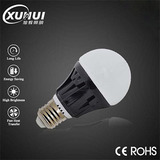AC85-265V E27/B22/E14 Black LED Bulb